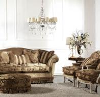 Итальянская мягкая мебель KEOMA диван AURORA