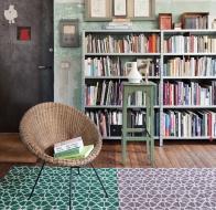 Итальянские ковры KARPETA  коллекция Flora Green