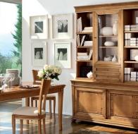 Итальянская мебель Le Fablier классическая коллекция столовая Fiordipesco стол Sun