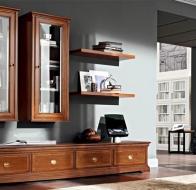 Итальянская мебель Le Fablier классическая коллекция гостиная I Ciliegi