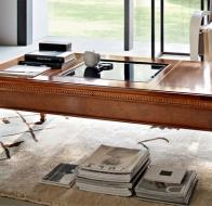Итальянская мебель Le Fablier классическая коллекция гостиная I Ciliegi стол Renuncolo