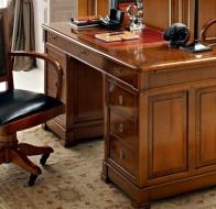Итальянская мебель Le Fablier классическая коллекция кабинет Fiordipesco стол Autumn