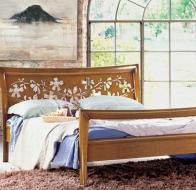 Итальянская мебель Le Fablier классическая коллекция спальня Fiordipesco кровать Sweet