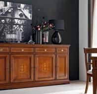 Итальянская мебель Le Fablier классическая коллекция спальня I Ciliegi комод Genziana