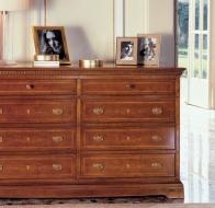 Итальянская мебель Le Fablier классическая коллекция спальня I Ciliegi комод Melograno