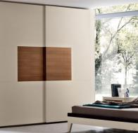 Итальянская фабрика Le Fablier коллекция в стиле модерн спальня Melograno шкаф Agrifoglio