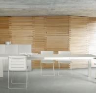 Итальянская мебель Ligne Roset современная столовая Travel StudioBianco