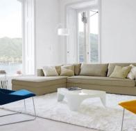 Итальянская мебель Ligne Roset современный угловой диван Rive Gauche