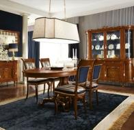 Итальянская мебель Linea B  классическая коллекция 700 Veneziano столовая