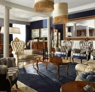 Итальянская мебель Linea B  классическая коллекция 700 Veneziano гостиная
