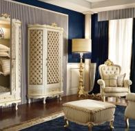 Итальянская мебель Linea B  классическая коллекция 700 Veneziano спальня