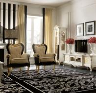 Итальянская мягкая мебель Linea B  классическая коллекция Giulio III кресло