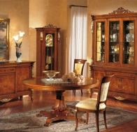 Итальянская мебель Linea B  классическая коллекция Giulio III столовая