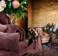 Испанский производитель ткани для штор и гардин Lizzo коллекция Botanical