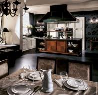 Итальянские кухни MARTINI MOBILI классическая коллекция CF ANEWPORT SHABBY