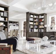 Итальянские гостиные MARTINI MOBILI классическая коллекция COMO