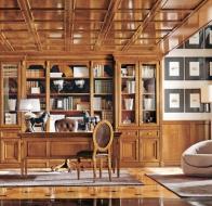 Итальянский кабинет MARTINI MOBILI классическая коллекция TORINO