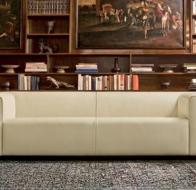 Итальянская мебель Mascheroni кожаный диван Moma