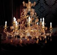 Итальянские люстры и светильники Mechini