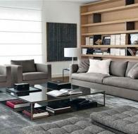 Итальянская мягкая мебель MERIDIANI диван BELMONDO