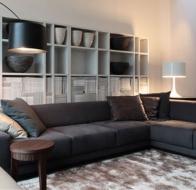 Итальянская мягкая мебель MERIDIANI диван FREEMAN MODULAR