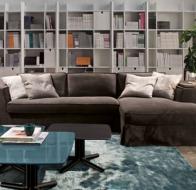 Итальянская мягкая мебель MERIDIANI диван GUINNESS