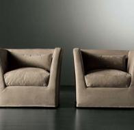 Итальянская мягкая мебель MERIDIANI диван QUINN