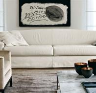 Итальянская мягкая мебель MERIDIANI диван SHARIF