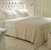 Итальянская мягкая мебель MERIDIANI кровать LOREN