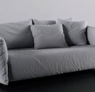 Итальянская мягкая мебель MERIDIANI кровать SCOTT