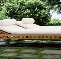 Итальянская уличная мебель MERIDIANI коллекция OPEN AIR