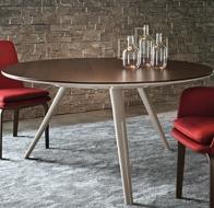 Итальянская мебель Minotti стол Evans стулья York