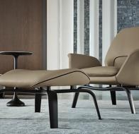 Итальянская мебель Minotti современное кресло Gilliam