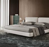 Итальянская мебель Minotti современная кровать Tatlin