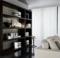 Итальянская мебель Minotti современный стеллаж Johns Up
