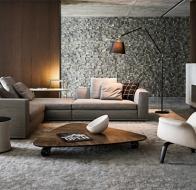 Итальянская мебель Minotti современный диван Powell