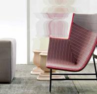Итальянская мягкая мебель MOROSO кресло PAPER PLANES