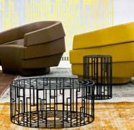 Итальянская мягкая мебель MOROSO кресло RIFT