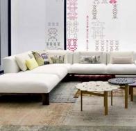 Итальянская мягкая мебель MOROSO диван FERGANA