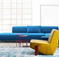 Итальянская мягкая мебель MOROSO диван LOWLAND