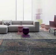 Итальянская мягкая мебель MOROSO диван PAPER PLANES