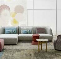 Итальянская мягкая мебель MOROSO диван REDONDO