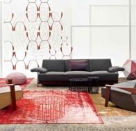 Итальянская мягкая мебель MOROSO диван SILVER LAKE