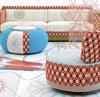 Итальянская мягкая мебель MOROSO диван SUSHI