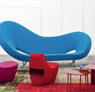 Итальянская мягкая мебель MOROSO диван-кровать VIKTORIA & ALBERT
