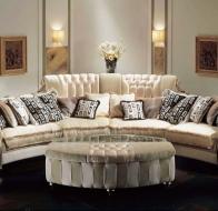 Итальянская мягкая мебель PAOLO LUCCHETTA  диван Tifffany