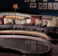Итальянская мягкая мебель PAOLO LUCCHETTA  диван Tiziano
