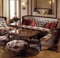 Итальянская мягкая мебель PAOLO LUCCHETTA  диван Tulip