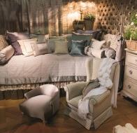 Итальянская мебель для спальни Provasi кровать Alain