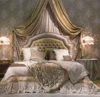 Итальянская мебель для спальни Provasi кровать Amelie Milano